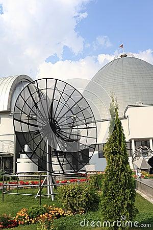 Planetarium in Moscow