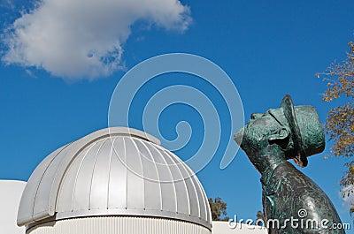 Planetarium and star gazer Editorial Photography