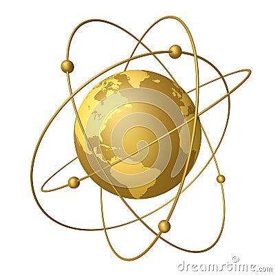 Planetas e satélites