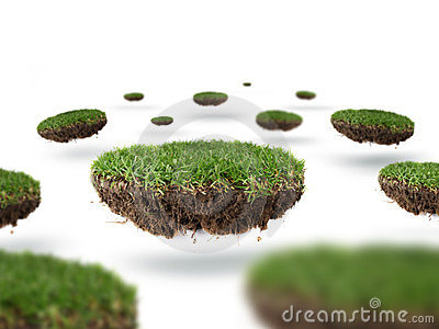 Planets of grass