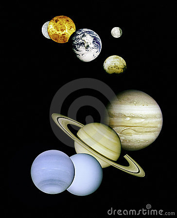 Free Planets In Outer Space. Stock Photography - 2044962