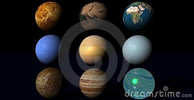 Planets in univers