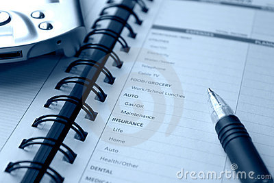 Planning personal expenses
