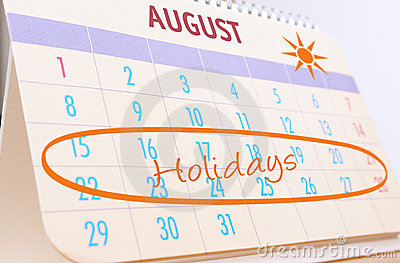 Planning summer holidays