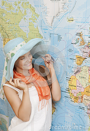Free Planning Travel Royalty Free Stock Images - 25926479