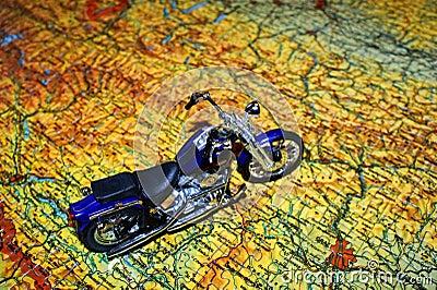 Planning a trip.