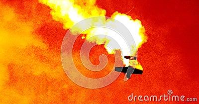 Plano na nuvem de fumo III