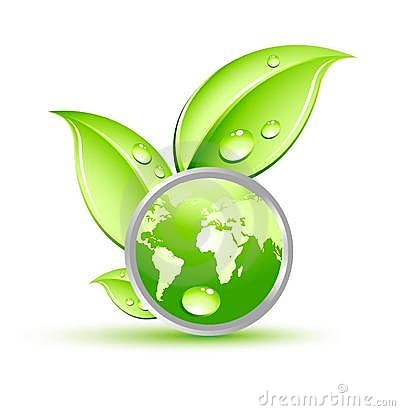 Plant with green globe