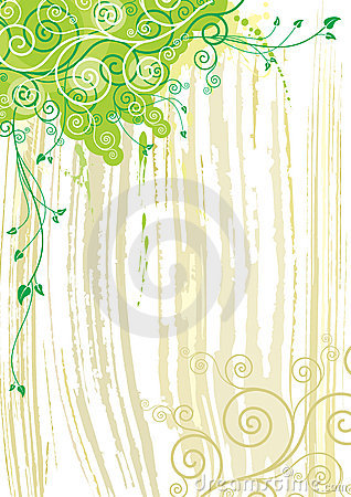 Plant and texture background