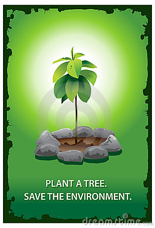 Plant A Tree Poster