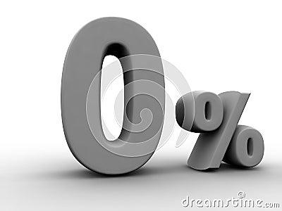 Planta de prestação zero dos por cento
