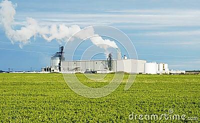Planta del etanol