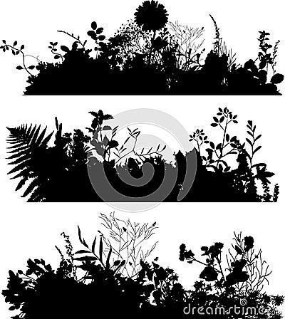 Plants_silhouette