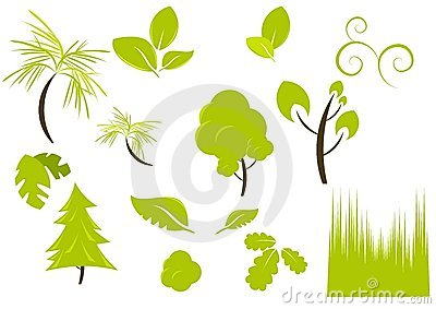 Plants and vegetation designs