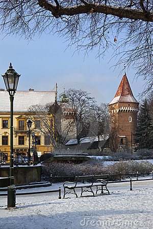 The Planty in Winter - Krakow - Poland