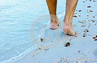 Plażowy odprowadzenie