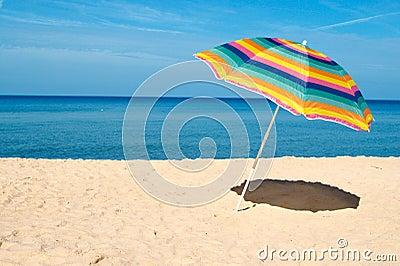 Plażowy parasol