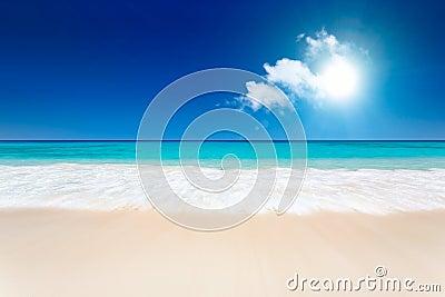 Plażowy piękny
