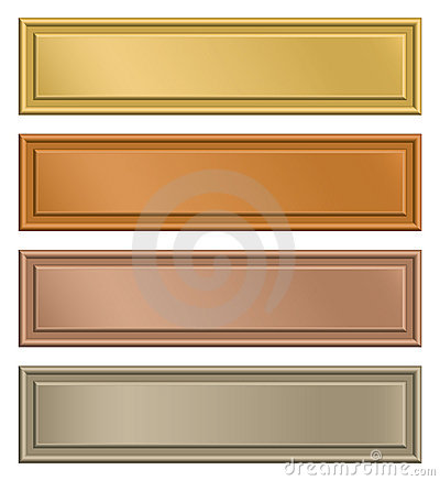 Free Plaque Stock Photography - 18546422
