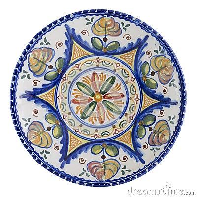 Plaque en céramique