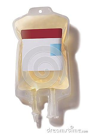 Plasma blood bag