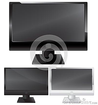 Plasma lcd monitor