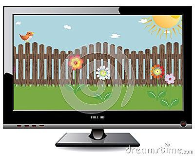 Plasma LCD TV