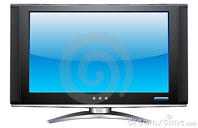 Plasma LCD TV Royalty Free Stock Photography - Image: 3276807