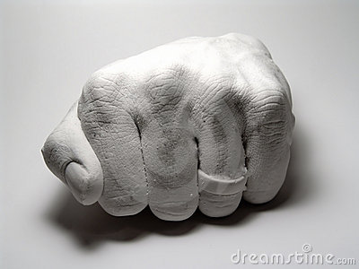 Plaster Fist