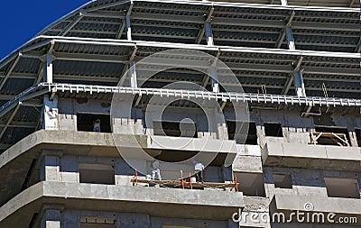 Plastering 30 Floors Up