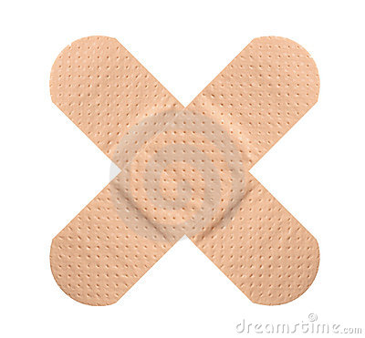 Free Plasters Crossed Royalty Free Stock Photo - 13024825