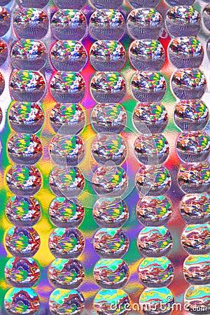 Plastic abstracte textuur