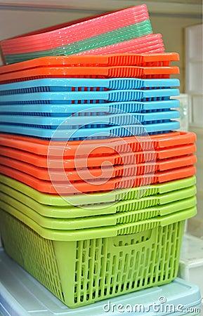 Free Plastic Baskets Stock Photos - 11571883