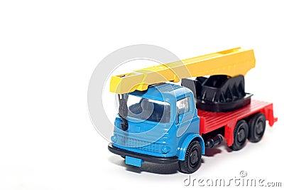 Plastic Bedford Crane Truck