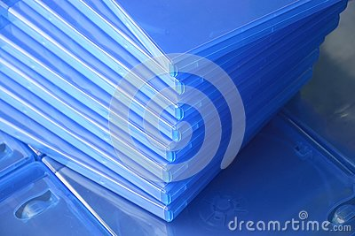 Plastic Blu ray  Cases