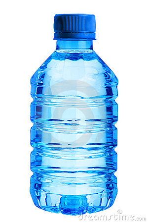 Free Plastic Blue Bottle Royalty Free Stock Photography - 20145477