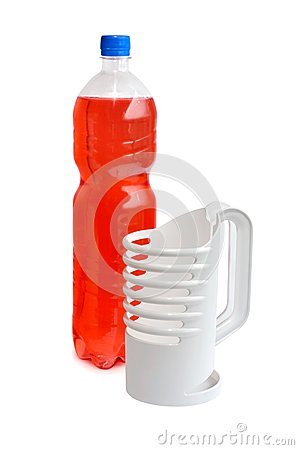Plastic bottle holder