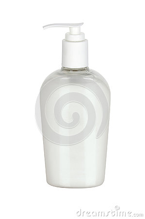 Plastic Bottle with liquid soap