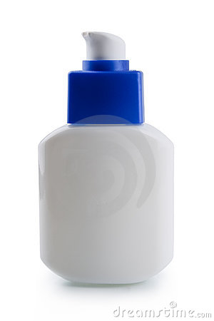 Plastic bottle for lotion