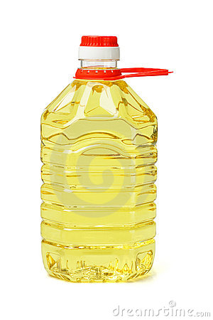 Free Plastic Bottle Of Cooking Oil Royalty Free Stock Photos - 21578708