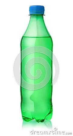 Free Plastic Bottle Of Lemon Soft Drink Stock Photography - 94964572