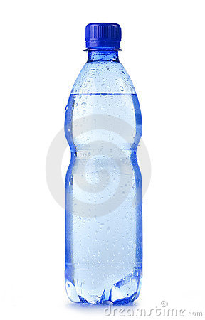 Free Plastic Bottle Of Mineral Water Isolated On White Stock Photos - 19298023