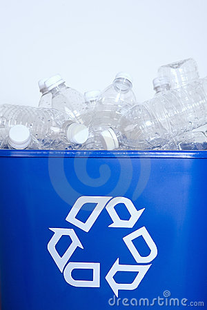 Free Plastic Bottles For Recycling Royalty Free Stock Photo - 4855615