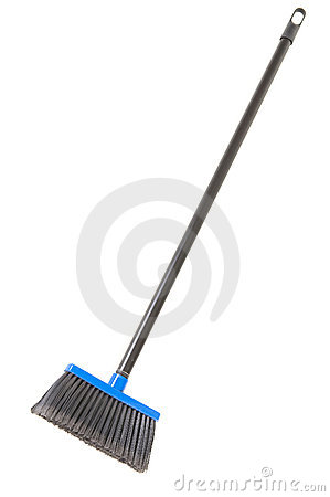 Free Plastic Broom Royalty Free Stock Photos - 4986788