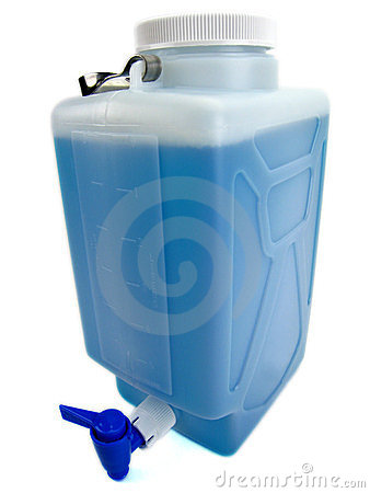 Plastic canister