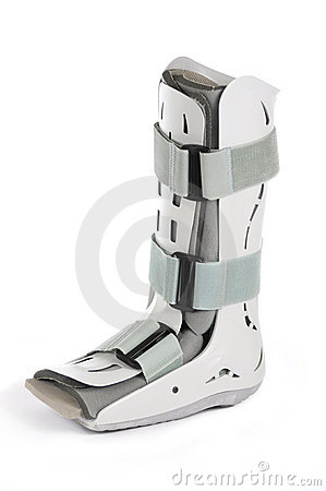 Plastic Cast Boot