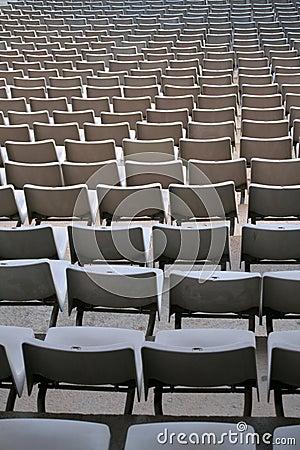 Free Plastic Chairs Stock Photo - 4912700