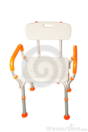 Free Plastic Chairs And Aluminum Royalty Free Stock Photo - 55454245