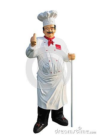 Plastic chef
