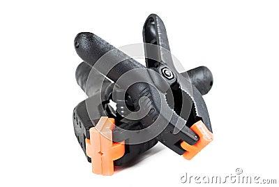 Plastic clamps
